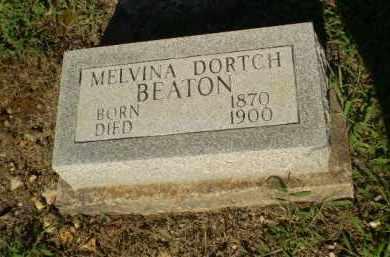 DORTCH BEATON, MELVINA - Clay County, Arkansas   MELVINA DORTCH BEATON - Arkansas Gravestone Photos