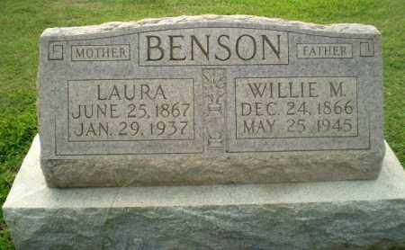 BENSON, LAURA - Clay County, Arkansas | LAURA BENSON - Arkansas Gravestone Photos