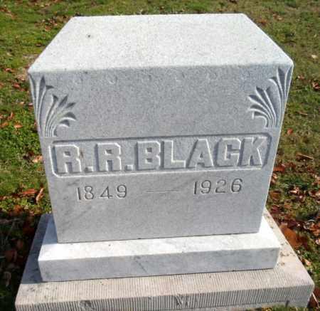 BLACK, R.R. - Clay County, Arkansas | R.R. BLACK - Arkansas Gravestone Photos