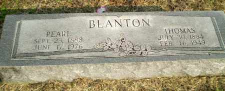 BLANTON, THOMAS - Clay County, Arkansas   THOMAS BLANTON - Arkansas Gravestone Photos