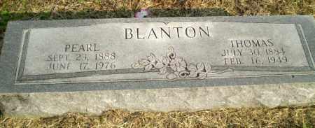 BLANTON, PEARL - Clay County, Arkansas | PEARL BLANTON - Arkansas Gravestone Photos