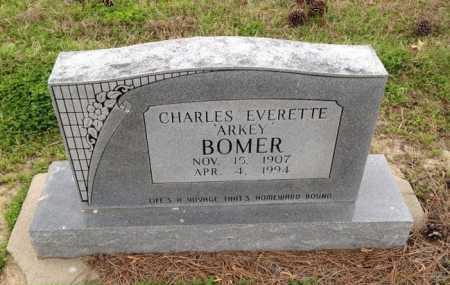 "BOMER, CHARLES EVERETTE ""ARKEY"" - Clay County, Arkansas   CHARLES EVERETTE ""ARKEY"" BOMER - Arkansas Gravestone Photos"