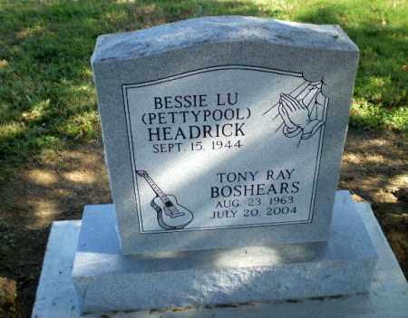 BOSHEARS, TONY RAY - Clay County, Arkansas | TONY RAY BOSHEARS - Arkansas Gravestone Photos