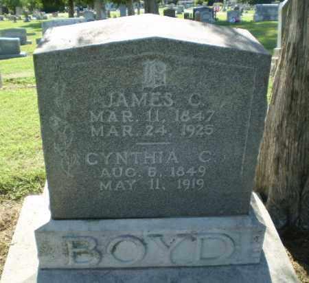BOYD, JAMES C - Clay County, Arkansas | JAMES C BOYD - Arkansas Gravestone Photos