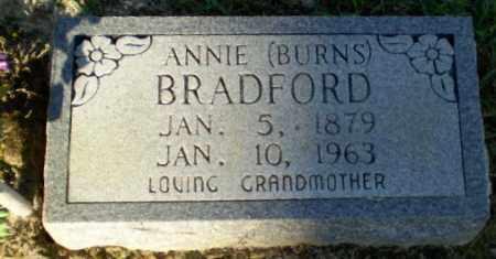 BURNS BRADFORD, ANNIE - Clay County, Arkansas | ANNIE BURNS BRADFORD - Arkansas Gravestone Photos