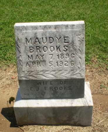 BROOKS, MAUDYE - Clay County, Arkansas | MAUDYE BROOKS - Arkansas Gravestone Photos