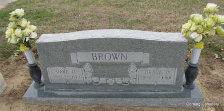BROWN, DAVE HARRISON - Clay County, Arkansas | DAVE HARRISON BROWN - Arkansas Gravestone Photos