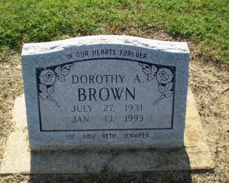 BROWN, DOROTHY A - Clay County, Arkansas   DOROTHY A BROWN - Arkansas Gravestone Photos