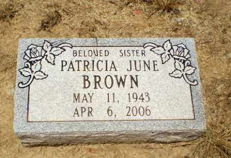 BROWN, PATRICIA JUNE - Clay County, Arkansas | PATRICIA JUNE BROWN - Arkansas Gravestone Photos