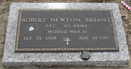BRYANT  (VETERAN WWII), ROBERT NEWTON - Clay County, Arkansas   ROBERT NEWTON BRYANT  (VETERAN WWII) - Arkansas Gravestone Photos