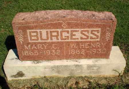 BURGESS, MARY C - Clay County, Arkansas | MARY C BURGESS - Arkansas Gravestone Photos