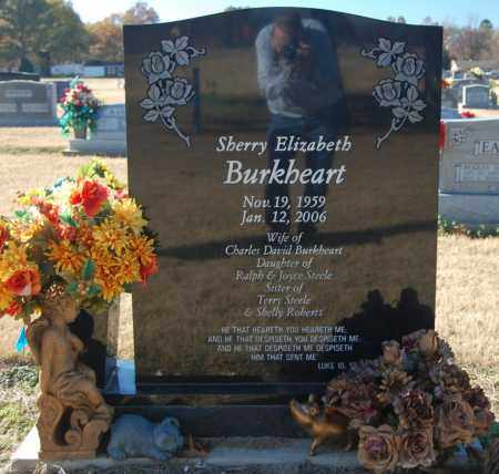 BURKHEART, SHERRY ELIZABETH - Clay County, Arkansas | SHERRY ELIZABETH BURKHEART - Arkansas Gravestone Photos