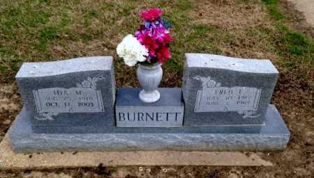 BURNETT, FRED - Clay County, Arkansas | FRED BURNETT - Arkansas Gravestone Photos