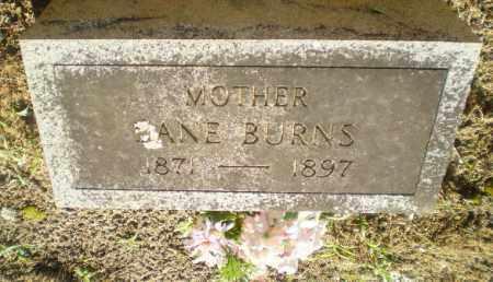 BURNS, JANE - Clay County, Arkansas   JANE BURNS - Arkansas Gravestone Photos