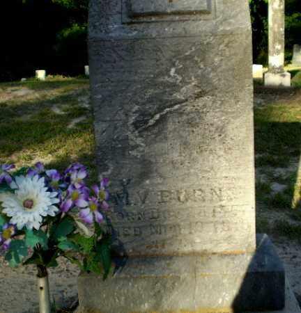 BURNS, M.V. - Clay County, Arkansas | M.V. BURNS - Arkansas Gravestone Photos
