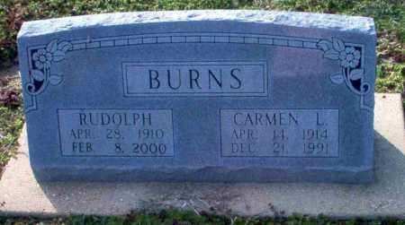 BURNS, CARMEN L. - Clay County, Arkansas | CARMEN L. BURNS - Arkansas Gravestone Photos