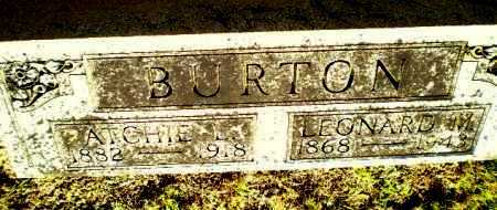 BURTON, ATCHIE L - Clay County, Arkansas | ATCHIE L BURTON - Arkansas Gravestone Photos