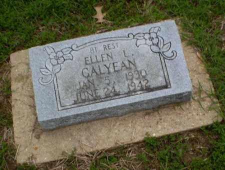 CALYEAN, ELLEN - Clay County, Arkansas | ELLEN CALYEAN - Arkansas Gravestone Photos