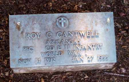CANTWELL  (VETERAN WWI), ROY C - Clay County, Arkansas   ROY C CANTWELL  (VETERAN WWI) - Arkansas Gravestone Photos
