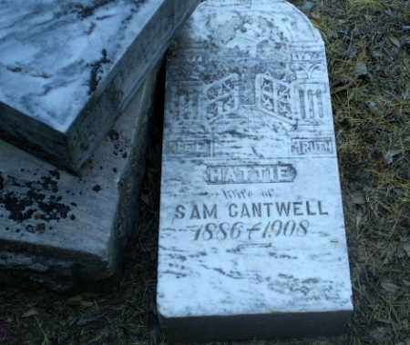 CANTWELL, HATTIE - Clay County, Arkansas | HATTIE CANTWELL - Arkansas Gravestone Photos