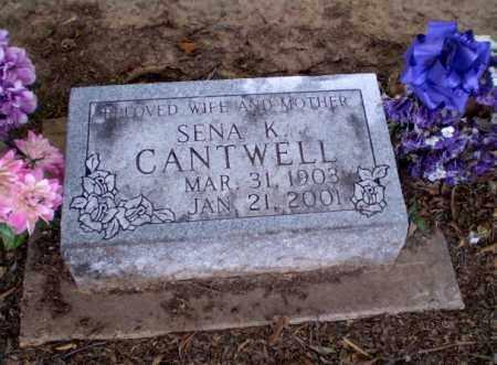 CANTWELL, SENA K - Clay County, Arkansas | SENA K CANTWELL - Arkansas Gravestone Photos