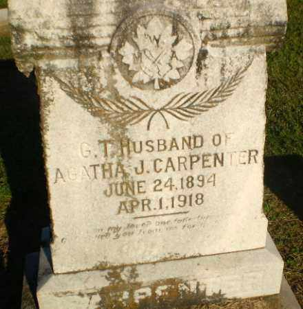 CARPENTER, GEORGE THOMPSON - Clay County, Arkansas | GEORGE THOMPSON CARPENTER - Arkansas Gravestone Photos