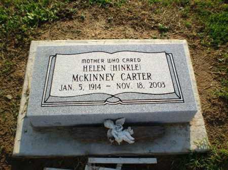 HINKLE CARTER, HELEN - Clay County, Arkansas | HELEN HINKLE CARTER - Arkansas Gravestone Photos