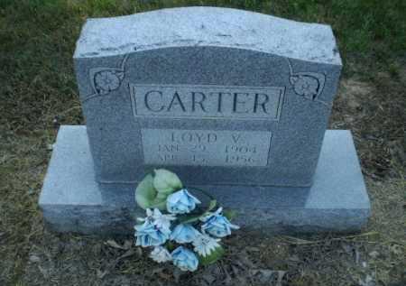 CARTER, LOYD V - Clay County, Arkansas | LOYD V CARTER - Arkansas Gravestone Photos