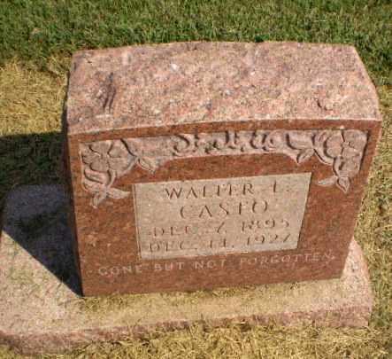 CASTO, WALTER L - Clay County, Arkansas | WALTER L CASTO - Arkansas Gravestone Photos