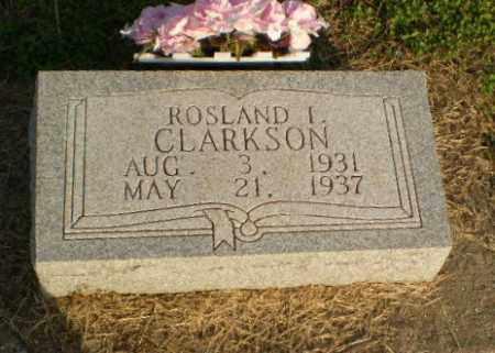 CLARKSON, ROSLAND L - Clay County, Arkansas | ROSLAND L CLARKSON - Arkansas Gravestone Photos