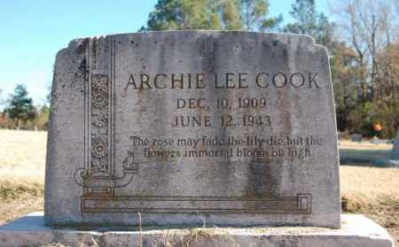 COOK, ARCHIE LEE - Clay County, Arkansas | ARCHIE LEE COOK - Arkansas Gravestone Photos