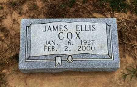 COX, JAMES ELLIS - Clay County, Arkansas | JAMES ELLIS COX - Arkansas Gravestone Photos