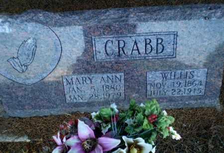 CRABB, WILLIS - Clay County, Arkansas   WILLIS CRABB - Arkansas Gravestone Photos