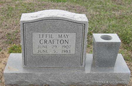 CRAFTON, EFFIE MAY - Clay County, Arkansas | EFFIE MAY CRAFTON - Arkansas Gravestone Photos