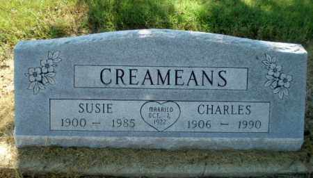 CREAMEANS, SUSIE - Clay County, Arkansas   SUSIE CREAMEANS - Arkansas Gravestone Photos