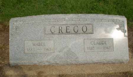 CREGO, CLAUDE - Clay County, Arkansas | CLAUDE CREGO - Arkansas Gravestone Photos