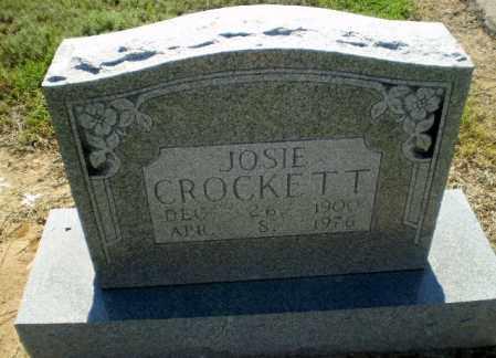 CROCKETT, JOSIE - Clay County, Arkansas | JOSIE CROCKETT - Arkansas Gravestone Photos