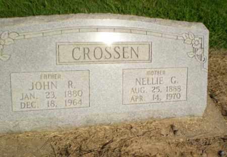 CROSSEN, NELLIE G - Clay County, Arkansas | NELLIE G CROSSEN - Arkansas Gravestone Photos