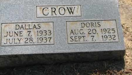 CROW, DALLAS - Clay County, Arkansas | DALLAS CROW - Arkansas Gravestone Photos