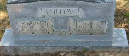 CROW, ALMARETA - Clay County, Arkansas   ALMARETA CROW - Arkansas Gravestone Photos