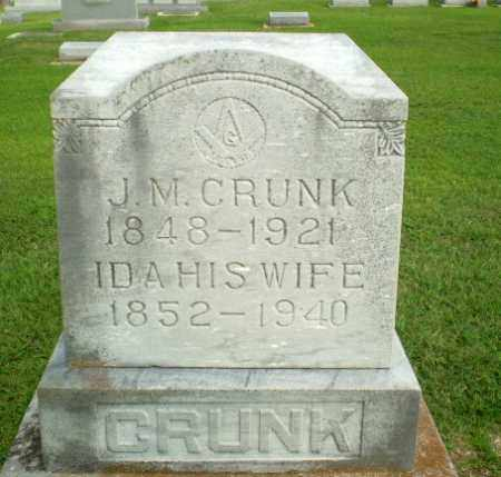 CRUNK, IDA - Clay County, Arkansas | IDA CRUNK - Arkansas Gravestone Photos
