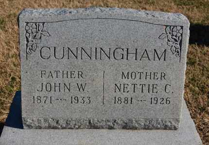 CUNNINGHAM, NETTIE C. - Clay County, Arkansas | NETTIE C. CUNNINGHAM - Arkansas Gravestone Photos