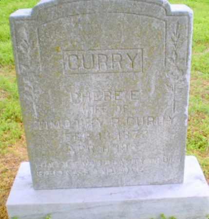 CURRY, PHEBE - Clay County, Arkansas | PHEBE CURRY - Arkansas Gravestone Photos