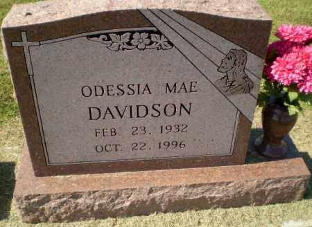 DAVIDSON, ODESSIA MAE - Clay County, Arkansas   ODESSIA MAE DAVIDSON - Arkansas Gravestone Photos