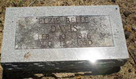 DAVIS, ELZIE BELLE - Clay County, Arkansas | ELZIE BELLE DAVIS - Arkansas Gravestone Photos