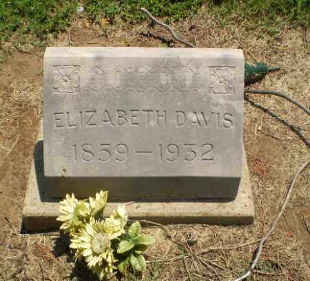 DAVIS, ELIZABETH - Clay County, Arkansas | ELIZABETH DAVIS - Arkansas Gravestone Photos