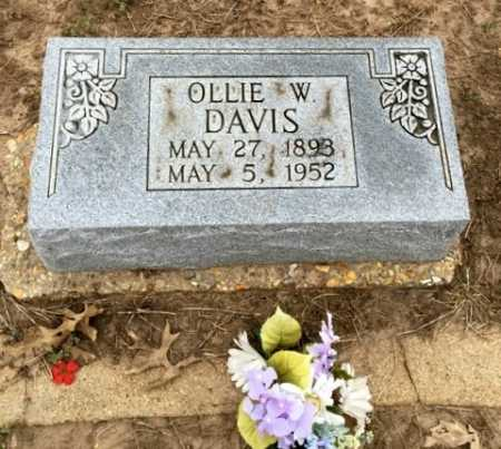 DAVIS, OLLIE - Clay County, Arkansas | OLLIE DAVIS - Arkansas Gravestone Photos