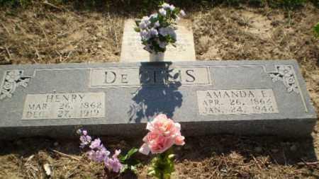 DECELIS, HENRY - Clay County, Arkansas | HENRY DECELIS - Arkansas Gravestone Photos