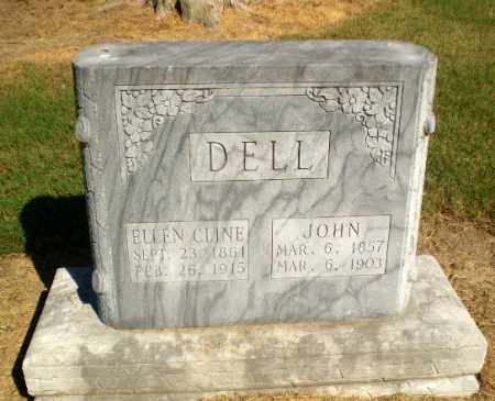 CLINE DELL, ELLEN - Clay County, Arkansas | ELLEN CLINE DELL - Arkansas Gravestone Photos