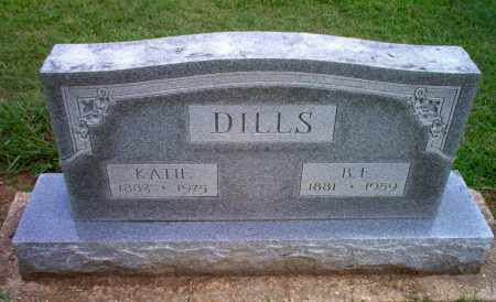 DILLS, KATIE - Clay County, Arkansas | KATIE DILLS - Arkansas Gravestone Photos